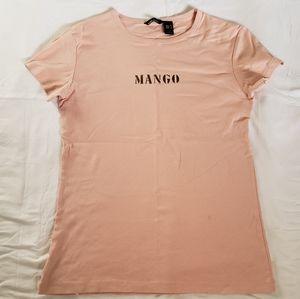Mango tee xl but fit like medium large